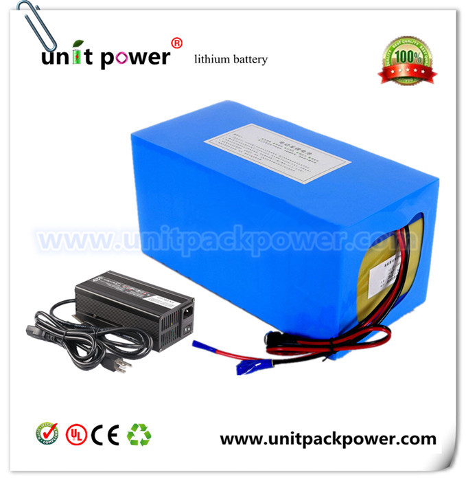 Free customs taxes Super power DIY 48 volt li-ion battery pack with fast charger and 40A BMS 48v 30ah lithium battery pack free customs taxes and shipping balance scooter home solar system lithium rechargable lifepo4 battery pack 12v 100ah with bms