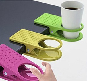 Korea creative table glass clip large table cup holder clip accusing the store priced supplier