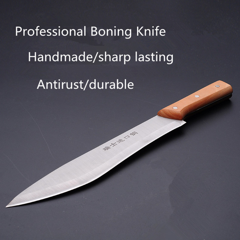 Free Shipping Forged Professional Boning font b Knives b font Slaughter Cleaver Butcher font b Knife