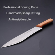Free Shipping Forged Professional Boning Knives Slaughter Cleaver Butcher Knife Pork Fish Peeling Knife Kill Cow Sheep Knife