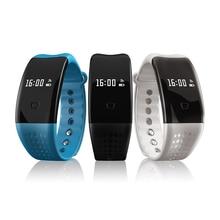 Luismia Bluetooth W2S Смарт часы браслет Спорт фитнес трекер шагомер, счетчик монитор сердечного ритма здоровья СКВ