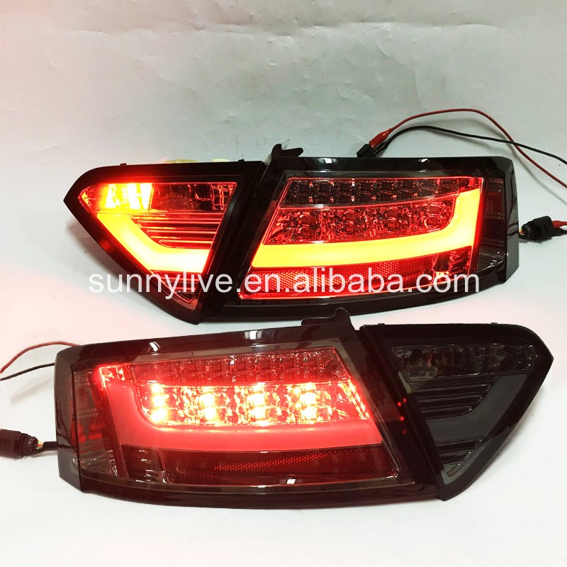 For Audi A5 2007 2009 rear font b light b font LED rear font b light