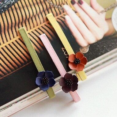Fashion Korean Vintage Women Sweet Flower Barrette Temperament Hairpin Hair Clip Accessories High Quality