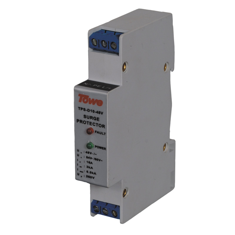 TOWE AP -D10-12V single phase low-voltage power protect Imax:2KA,Un:12V- Up:70V Thunder protector towe ap c40 pv600 pv systems 600v dc system power class c protection 4 modulus imax 40ka up 2 2v thunder protector