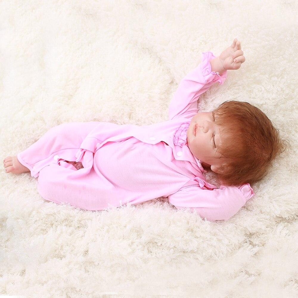 Otarddoll reborn poupée bébé 22 ''55 cm silicone vinyle enfants playmate poupée doux réel toucher jouets pour cadeau d'anniversaire et de noël