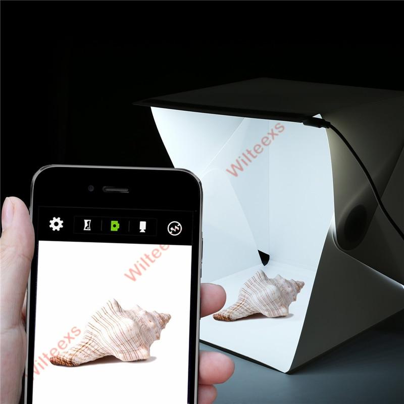 WILTEEXS Mini Photo Studio Box Telón de fondo de fotografía - Cámara y foto - foto 4