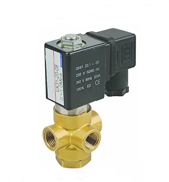 1/4 direct acting brass solenoid valve air,gas ,water,oil vacuum ,steam solenoid valve normally closed high temperature steam solenoid valve zqdf 15 dc12v direct acting piston