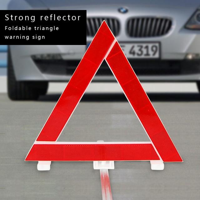 295mm folding emergency stop car failure red tripod reflectors