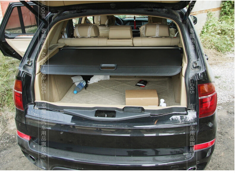 Car Rear Trunk Security Shield Cargo Cover For BMW X5 E70 F15 ...