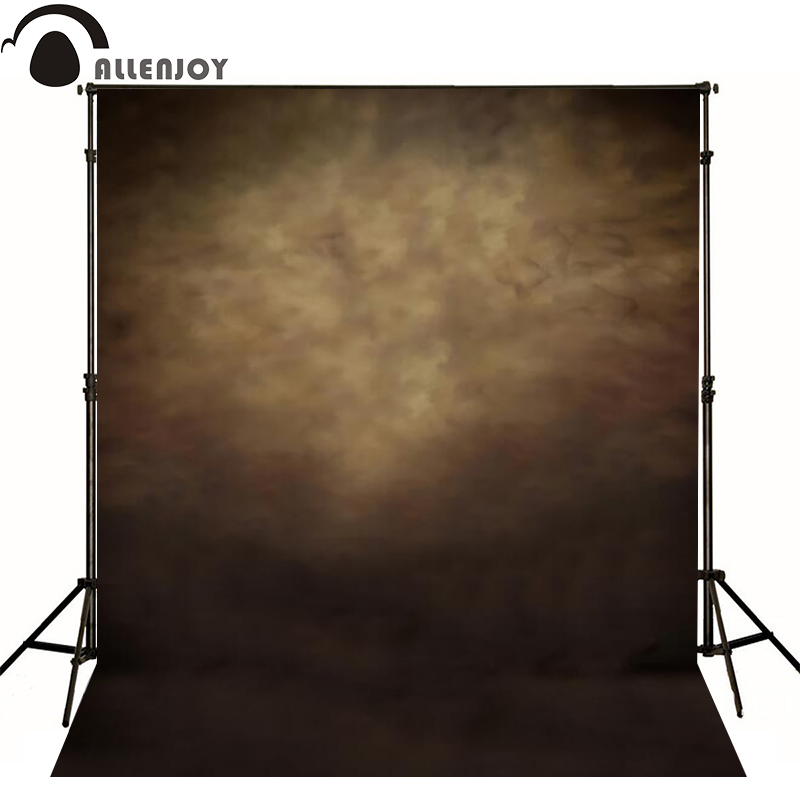 Allenjoy photography backdrops Brown retro old master photo background newborn baby photocall lovely thin vinyl