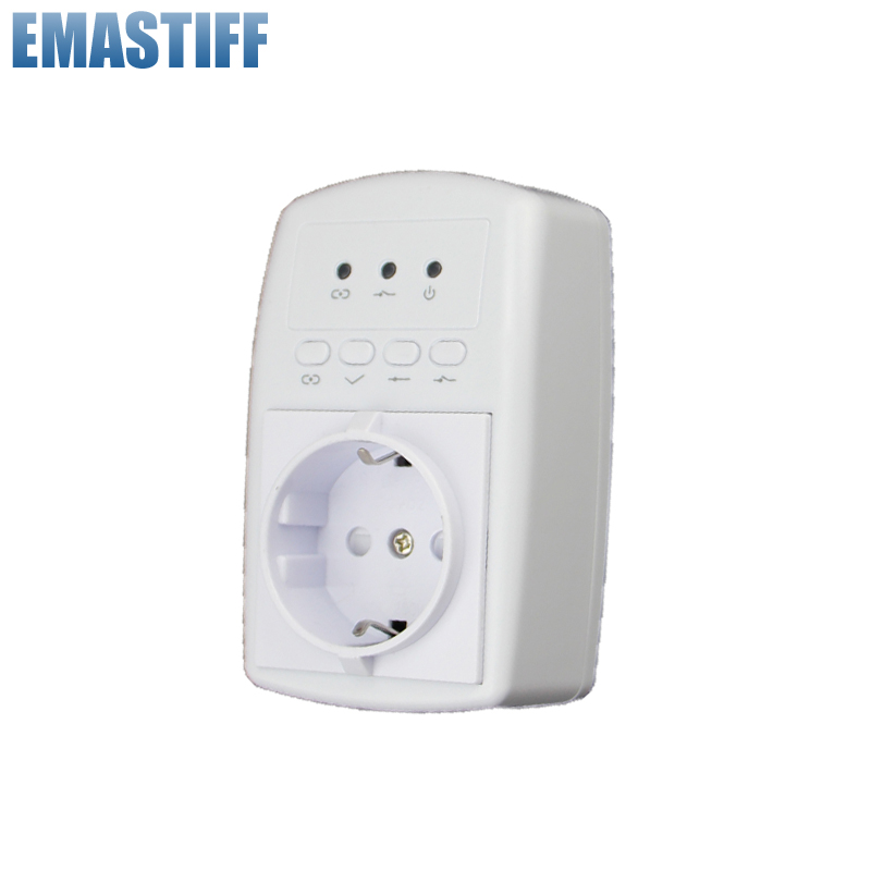 Free Shipping Wireless SMS APP Smart Power Plug For Home Appliance For GSM PSTN 868MHZ X6