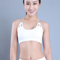 e4c806750 Free Shipping Women Top Quality Quick Dry Breathable Thick Material  Exercise Bras Size S L