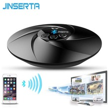 JINSERTA Universal 3.5mm Wireless HIFI Bluetooth Audio Transmitter Receiver FM Radio TF Music Stereo Dongle Adapter for Mp3 PC