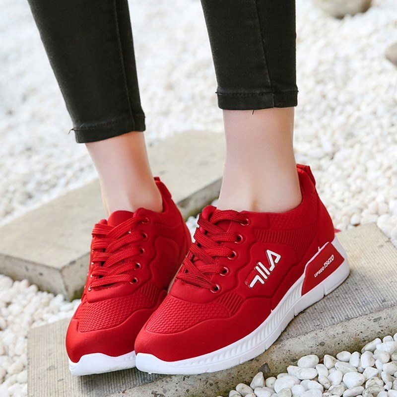 2019 Women Running Shoes Sneakers Basket Femme 2019 Spring Autumn Fitness Breathable Sport Shoes Woman Trainers Zapatos Mujer high heels