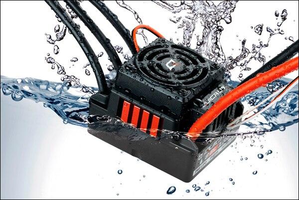 Hot1Pcs Hobbywing Quicrun WP-8BL 150A contrôleur de vitesse ESC sans capteur étanche pour RC chaud