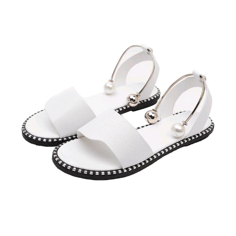 Pantofi Femeile de vară Model nou Deschis la picioare Minimalism - Pantofi femei