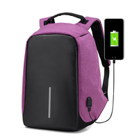 High Quality Women Backpacks Female Oxford Anti Theft Backpack Bag USB Charge 15 Inch Laptop Mochila