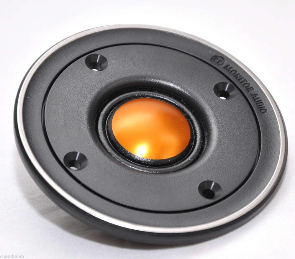 Promotion vente!!! 1 pièces M0nit0r Audi0 TBX025 V2 25mm Or Tweeters à Dôme nouveau