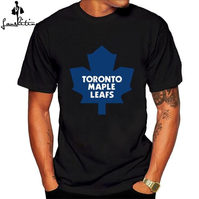 bfc4319cc43 Mens T Shirt casual shirt Men's Canada Maple Leafs T shirt Black hot  fashion short sleeve t-shirt