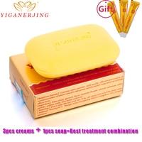 Sulfur Soap Skin Conditions Acne Psoriasis Seborrhea Eczema Anti Fungus Bath Whitening Soap Shampoo Soap Gift