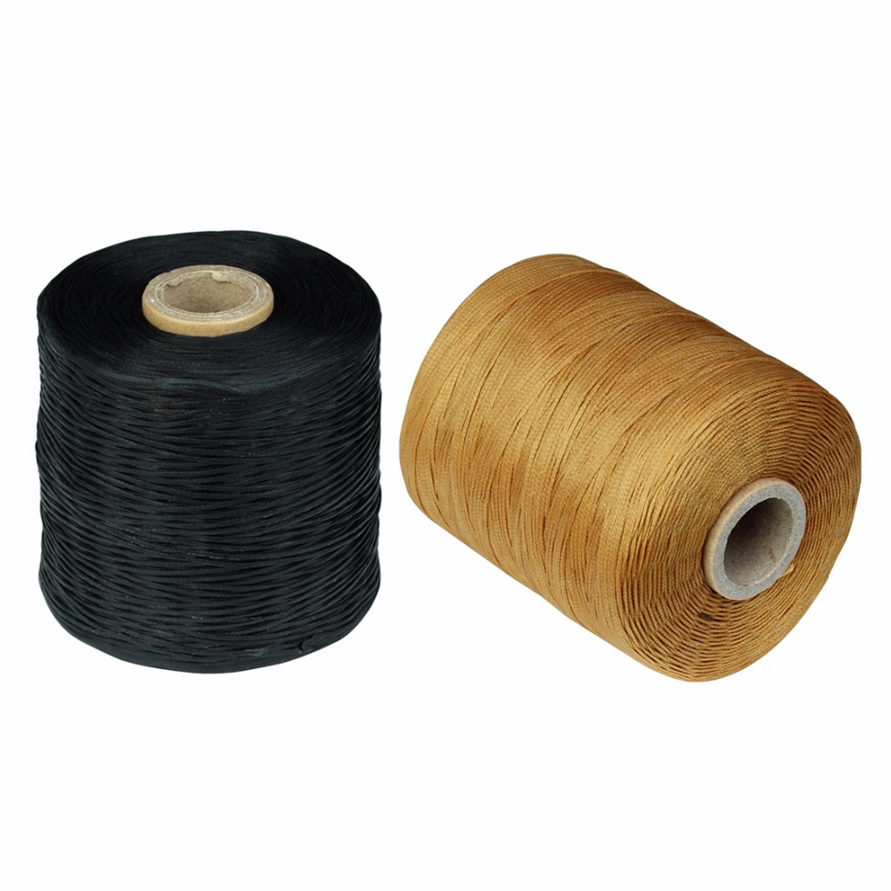 Ckysee 50meters/roll Leather Cord Thread Width 1.5mm DIY Nylon Sewing Thread Waxed Thread Cotton Cord For Diy Jewelry Making