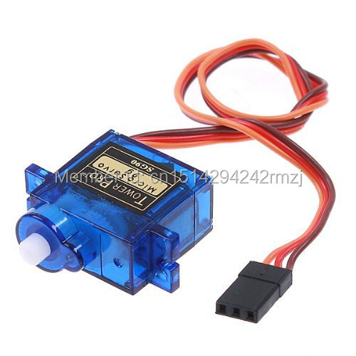 100% New 2 x SG90 9g mini Micro Servo For Rc Servo for RC 250 450 Helicopter Airplane Car for Arduino UNO R3 diy Free Shipping