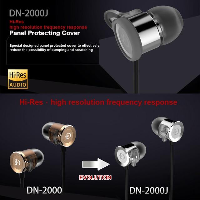 DUNU DN 2000J Hi-Res AUDIO Dual Balanced Armature Single Dynamic Hybrid HiFi in-Ear Earphone DN2000J DN-2000J DUNU-TOPSOUND 3