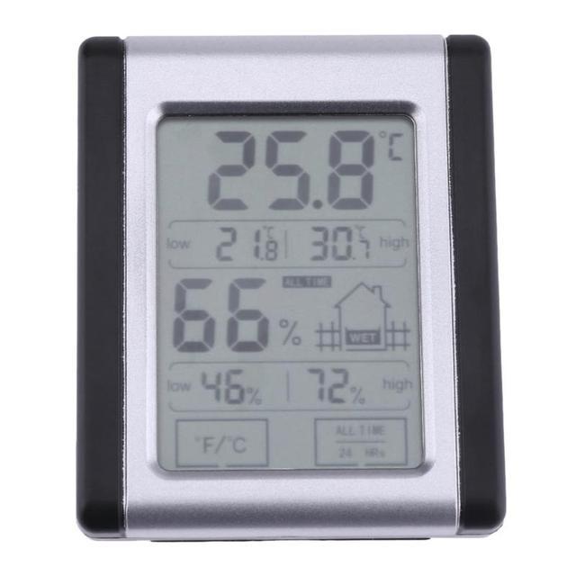 Indoor LCD Elektronische Temperatuur vochtigheidsmeter Digitale ...