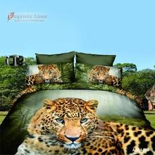 New 3D bedding sets Home Textiles 4Pcs bedclothes sets jogo de cama Queen size reactive print duvet cover/ bed sheet/ pillowcase