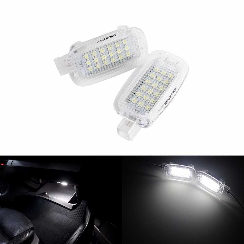 1x Mercedes GLK-Class X204 Bright Xenon White 8SMD LED Canbus Number Plate Bulb