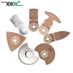 STARLOCK Тип цельный NEWONE E-cut циркулярная с карбидным и Алмазный Осциллирующий мульти инструмент пилы треугольник Rasp