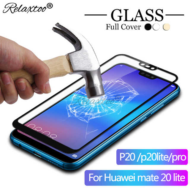 Full Cover Tempered Glass For Huawei mate 20 lite case For huawei P20 pro Screen Protector P20Lite P 20 p20 Plus Protective Film