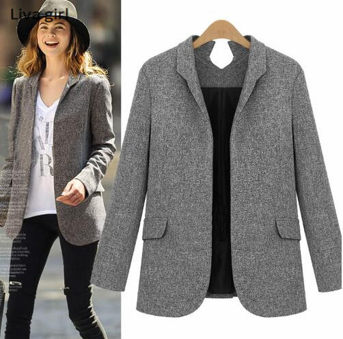 Online Get Cheap Grey Blazer Jackets -Aliexpress.com | Alibaba Group