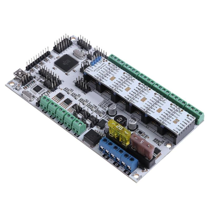 Здесь продается  ALLOYSEED Rumba Plus Motherboard +TMC2130 V1.1+5xTMC2100 V1.3 Stepping Drivers for 3D Printer for Arduino Mega  Компьютер & сеть
