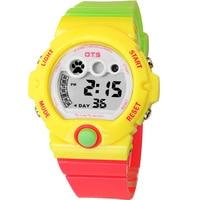 OTS Digital relojes mujer waterproof wristwatches Girl Dress Women Watch OTS brand luxury Fashion Casual Rubber strap kid watch
