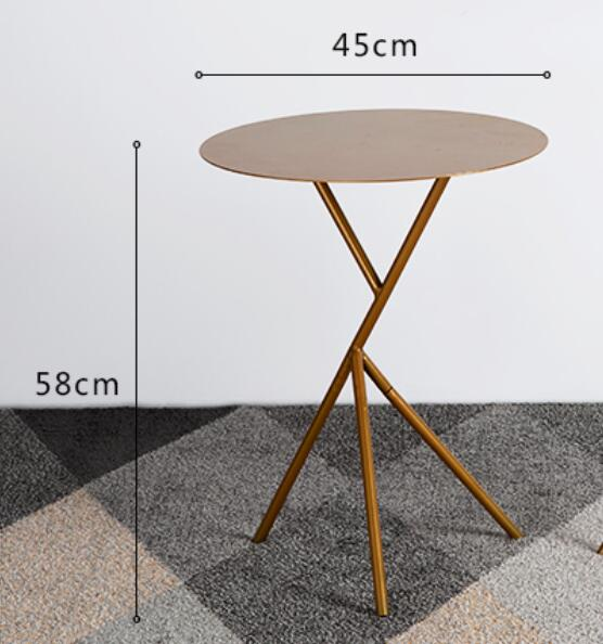 45*58CM Round Bedside Table Creative Side table Coffee Tables|Coffee Tables| |  - title=