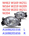 suitable for A1698201556 A1698201656 FOG LAMP FOG LIGHT FOR MERC FOR BENZ W463 W169 W251 W164 W219 W209 W230 W203 W211 W204