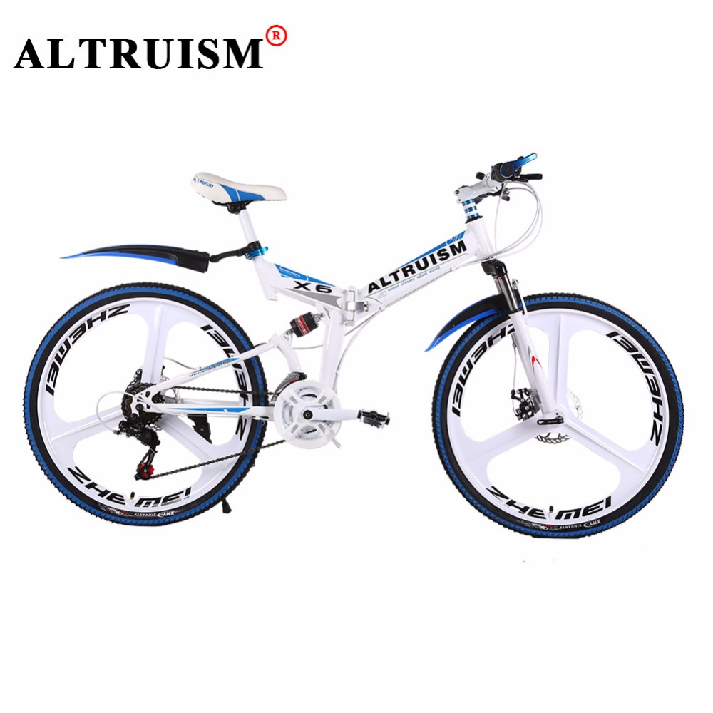ALTRUISM X6 Mountain Bike 26 Inch Steel 24 Speed Bicycles Bicicleta Double Disc Drakes Bisiklet Road Bicycle Racing Bike Floding altruism x6 folding bicycle 21 speed 26inch steel mountain bike completion for male bicicleta for montanha red blue black
