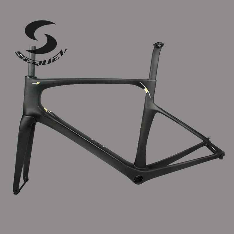 2016 newest bicycle frame road carbon china FOIL carbon bike frame 47cm/49cm/52cm/54/56cm bicicleta carbon frames