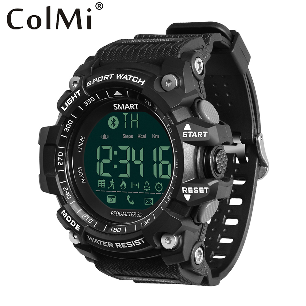 COLMI VS505 Swim Waterproof Smart Men Sport Watch Pedometer Fitness Watch Call SMS Message Reminder Smartwatch for Android IOS