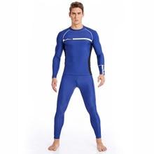 ab80e8cbc5e0 SABOLAY Mens Vestiti di Sport Per Lo Snorkeling Manica Lunga Calzamaglie  Pantaloni Costumi Da Bagno Costume Da Bagno di Nuoto Su.
