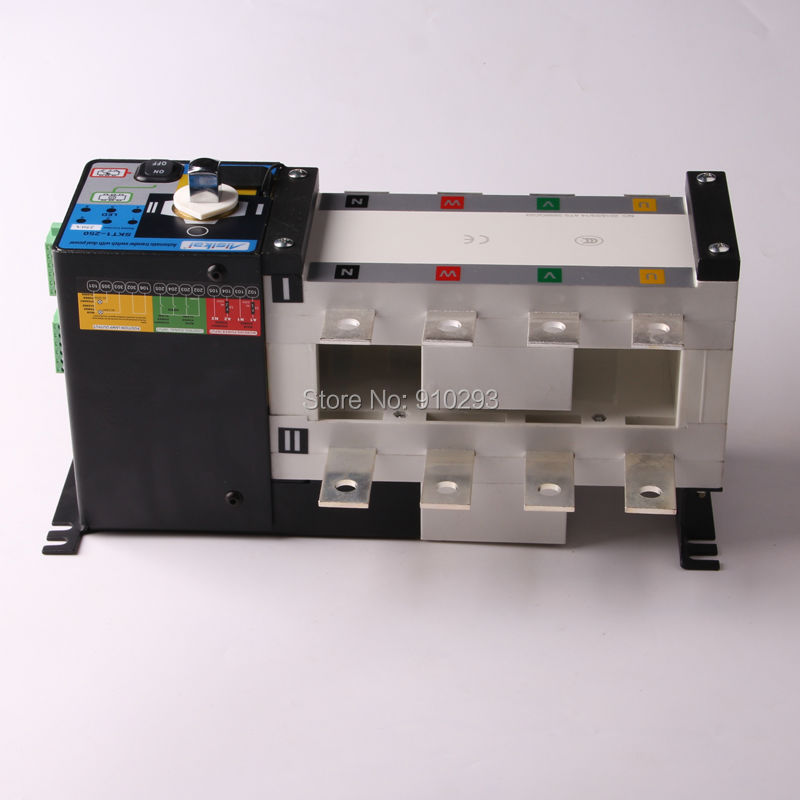 250A 300A 4P ATS dual power Genset automatic transfer switch 220V 380V Universal electric generator ac cuircuit control switches