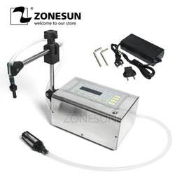 ZONESUN 5-3500 мл точность портативный цифровой жидкий наполнитель ЖК-дисплей духи напиток вода молоко маленький флакон наполнитель