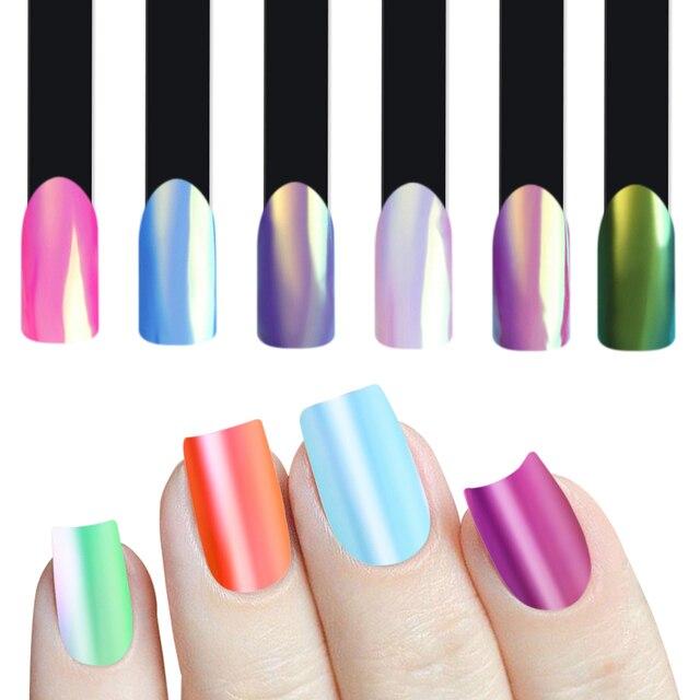 Aliexpress.com : Buy Magic Mirror Powder Neon Nail Glitter Ultra ...