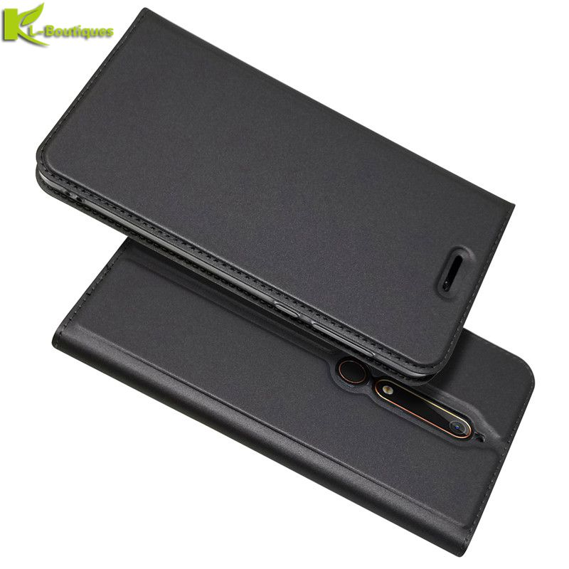for <font><b>Nokia</b></font> 5.1 <font><b>Leather</b></font> <font><b>Case</b></font> on for Funda <font><b>Nokia</b></font> 1 2.1 3.1 <font><b>6.1</b></font> 9 7 Plus 2018 <font><b>Case</b></font> Cover Luxury Magnet <font><b>Flip</b></font> Wallet Phone <font><b>Cases</b></font> Coque image