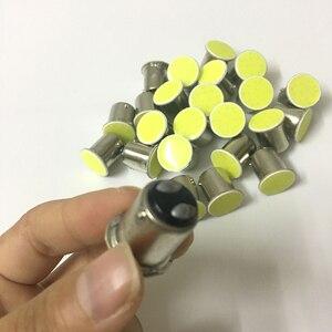 Image 4 - 100x1156 BA15S P21W 1157 Bay15d P21/5 w 12 cips LED için COB ampul oto araba yedekleme kuyruk dönüş sinyal ışıkları lamba beyaz sarı kırmızı