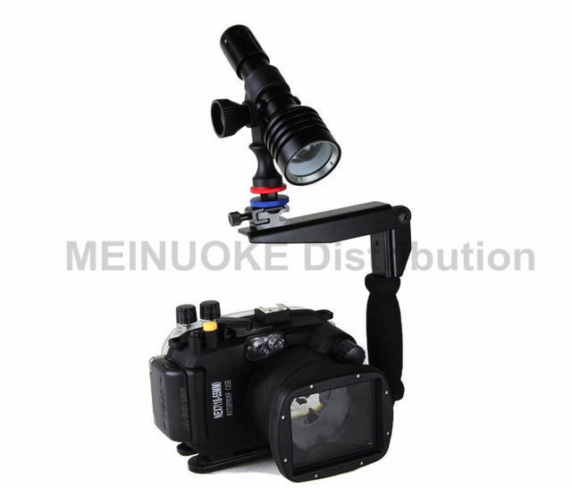 Camera Diving Dive Tray Hand Grip Underwater Photography W Hot Shoe Mount For Gopro