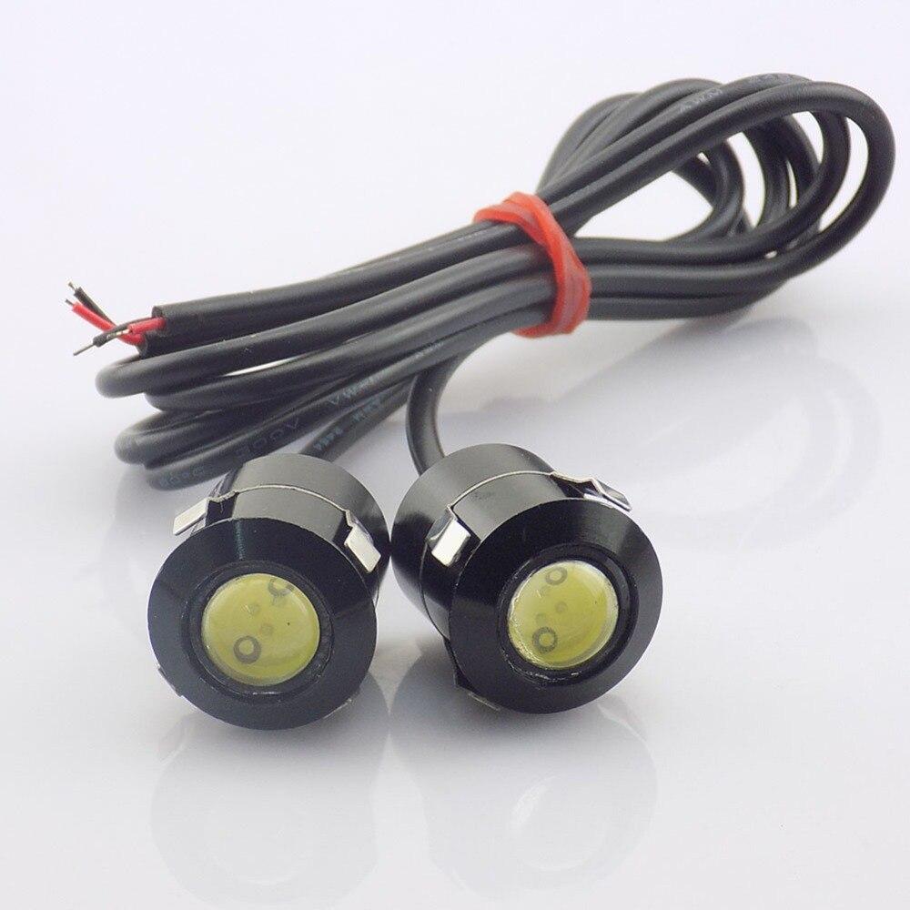 QvvCev 2pcs Ultra Bright LED Car Eagle Eye Car Fog Lights DRL ...
