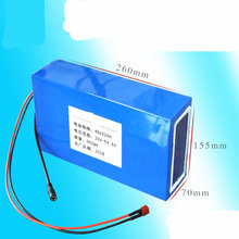 Free shipping E-Bike Battery 48V 20Ah Lithium ion Battery with 30A BMS for 750W BBS02 1000W BBSHD Bafang Motor scooter(China)