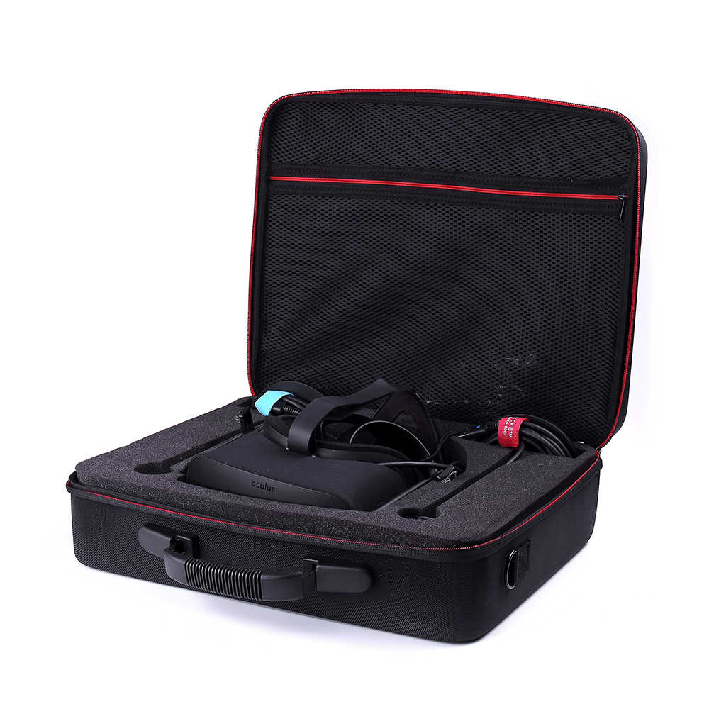Hard Travel Bag Carry Case For Oculus Rift + Touch Virtual Reality System and Accessories Protect Cover Storage Box Bag
